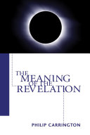 Pdf The Meaning of the Revelation