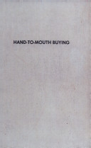 Hand-to-mouth Buying