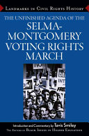 The Unfinished Agenda of the Selma Montgomery Voting Rights March