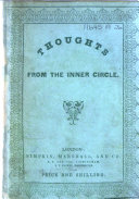 Pdf Thoughts from the Inner Circle