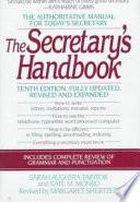 The Secretary's Handbook