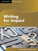 Writing for Impact Student s Book with Audio CD