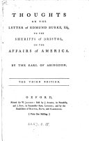 Pdf Thoughts on the Letter of Edmund Burke, Esq