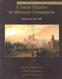 A Short History of Western Civilization Book PDF