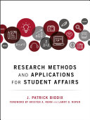 Research Methods and Applications for Student Affairs