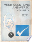 Your Questions Answered Volume V Book