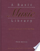 Read Online A Basic Music Library For Free