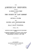 The American Reports Book