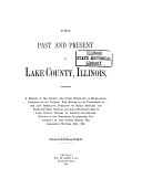 The Past and Present of Lake County  Illinois
