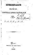 Diccionario manual castellano-catalán
