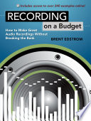 Recording on a Budget Book