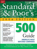 Standard And Poor S 500 Guide Book PDF