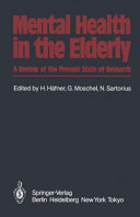 Mental Health in the Elderly