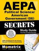 Aepa Political Science/American Government (06) Secrets Study Guide