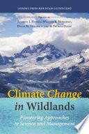 Climate Change In Wildlands Book PDF
