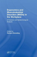 Ergonomics and Musculoskeletal Disorders  MSDs  in the Workplace
