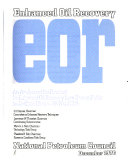 Enhanced Oil Recovery  EOR