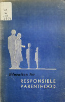 Education for Responsible Parenthood Book