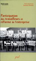 Participation des travailleurs et réforme de l'entreprise