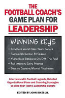 Football Coach s Game Plan for Leadership