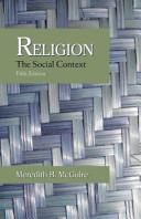 Religion : the social context