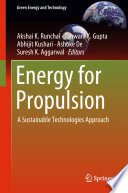 Energy for Propulsion Book