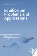 Equilibrium Problems and Applications Book