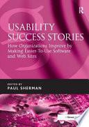 Usability Success Stories