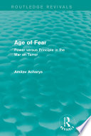 Age Of Fear Routledge Revivals