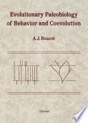 Evolutionary Paleobiology of Behavior and Coevolution Book