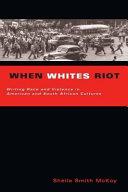 When Whites Riot