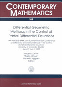 Differential Geometric Methods in the Control of Partial Differential Equations