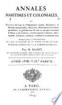Annales maritimes et coloniales