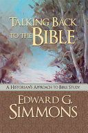 Talking Back to the Bible