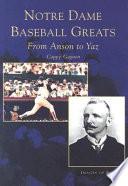Notre Dame Baseball Greats Book PDF