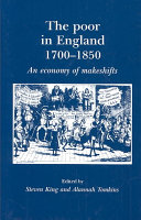 The Poor in England  1700 1850