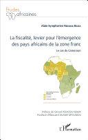 Pdf La fiscalité, levier pour l'émergence des pays africains de la zone franc Telecharger