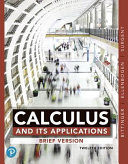 Calculus and Its Applications  Brief Version  Books a la Carte Edition