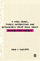 A Very Short, Fairly Interesting and Reasonably Cheap Book about Management