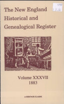 The New England Historical and Genealogical Register: Volume ...