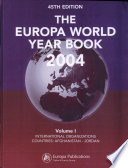 """Europa World Year"" by Taylor & Francis Group"