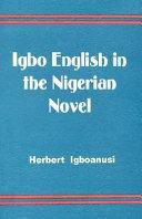 Igbo English in the Nigerian Novel