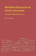 Pdf Mediated Discourse as Social Interaction Telecharger