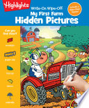 Write On Wipe off My First Farm Hidden Pictures Book PDF