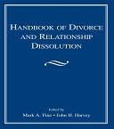 Pdf Handbook of Divorce and Relationship Dissolution Telecharger