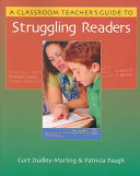 A Classroom Teacher S Guide To Struggling Readers Book PDF