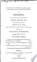 The Path of the Just  Like the Shining Light  A Sermon  on Proverbs Iv  18   Occasioned by the Death of H  Keene  Esq