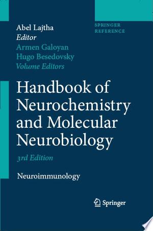 Download Handbook of Neurochemistry and Molecular Neurobiology Free PDF Books - Free PDF