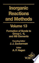 Inorganic Reactions and Methods, The Formation of Bonds to Group-I, -II, and -IIIB Elements