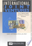 A Short Course In International Joint Ventures